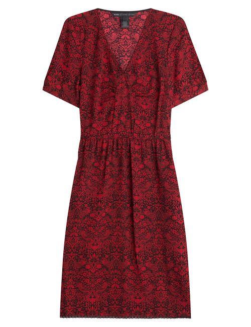 Marc by Marc Jacobs | Женское Красный Printed Dress Gr. S