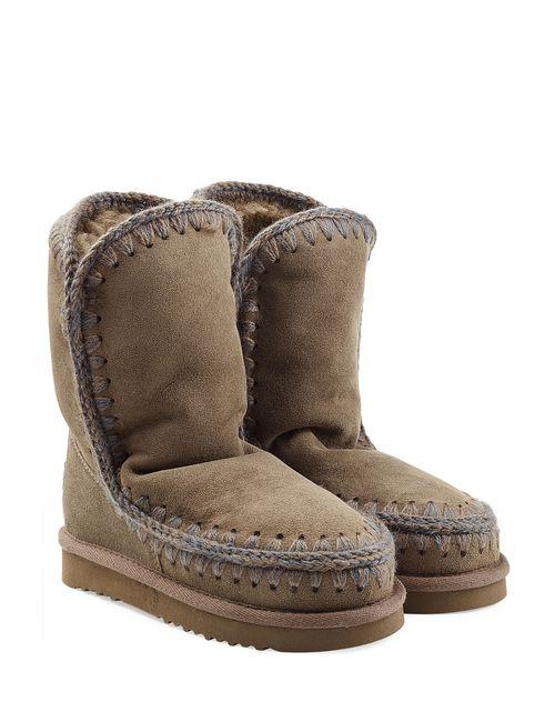 Mou   Женское Зелёный Eskimo Short Sheepskin Boots Gr. Eu 40