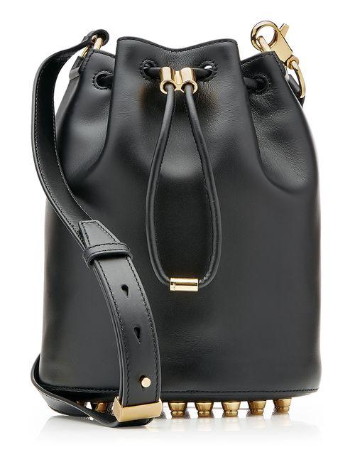 Alexander Wang   Женское Чёрный Alpha Bucket Leather Shoulder Bag Gr. One