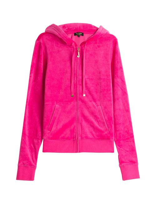Juicy Couture | Женское Розовый J Bling Velour Hoodie Gr. S