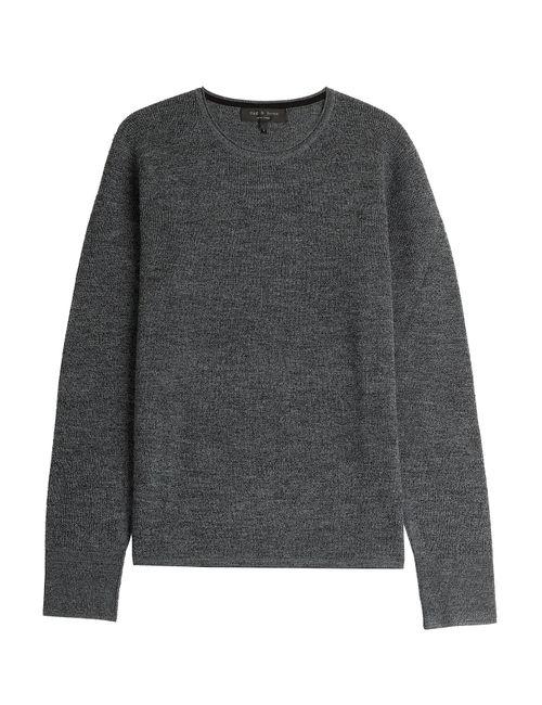 Rag & Bone | Мужское Grau Merino Wool Pullover Gr. M