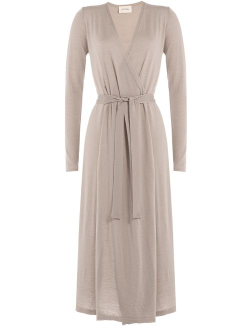 American Vintage | Женское Бежевый Wool Cardigan Gr. S