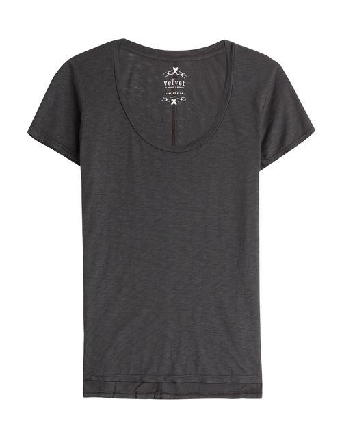 Velvet | Женское Зелёный Jersey T-Shirt Gr. S