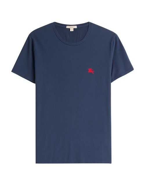 Burberry Brit | Blau Cotton T-Shirt Gr. S