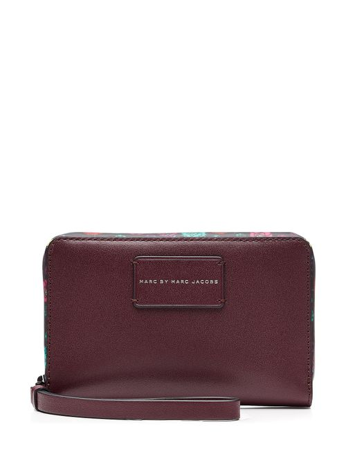 Marc by Marc Jacobs x Disney | Женское Многоцветный Ditsy Flower Wingman Leather Wallet Gr. One
