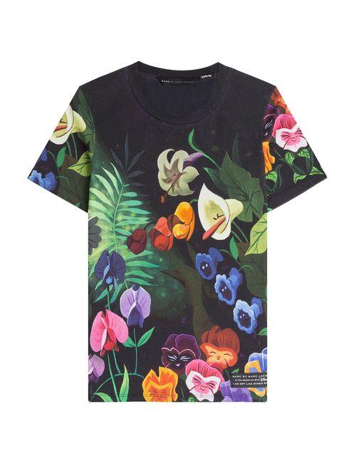 Marc by Marc Jacobs x Disney | Женское Garden Printed T-Shirt Gr. M