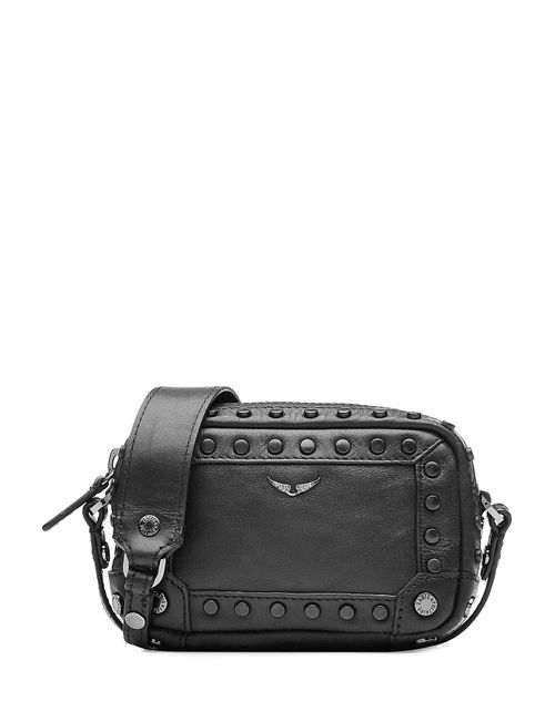 Zadig & Voltaire | Женское Чёрный Embellished Leather Shoulder Bag Gr. One Size