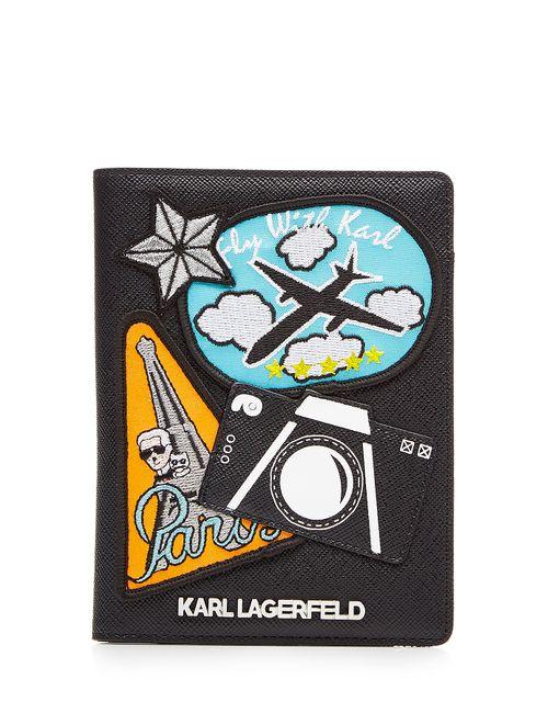 Karl Lagerfeld | Женское Schwarz Karl Around The World Wallet Gr. One