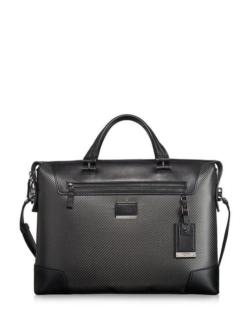 Tumi | Женское Grau Carbon Fiber Indianapolis Slim Briefcase Gr. One