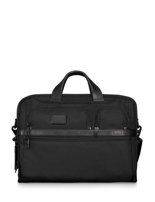 Tumi | Женское Чёрный Alpha 2 Business Large Laptop Briefcase Gr.