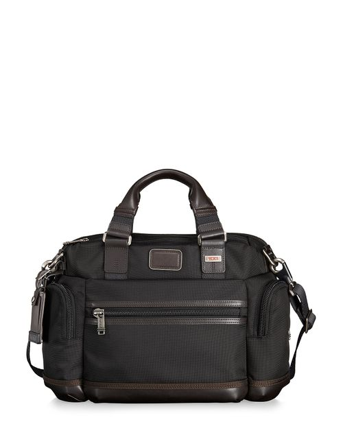 Tumi | Женское Braun Alpha Bravo Brooks Slim Briefcase Gr. One