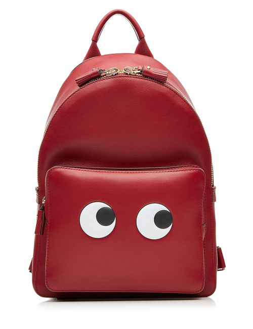 Anya Hindmarch | Женское Rot Leather Eyes Mini Backpack Gr. One Size