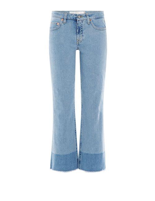 Victoria Beckham Denim | Женское Kick Flare Jeans Gr. 25