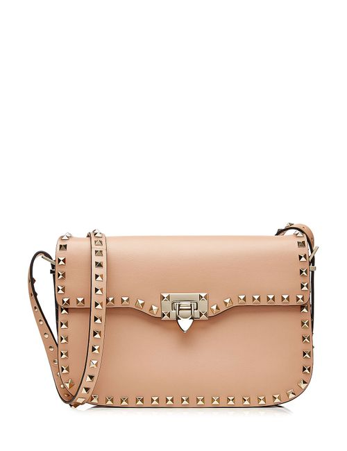 Valentino | Женское Бежевый Leather Rockstud Shoulder Bag Gr. One Size