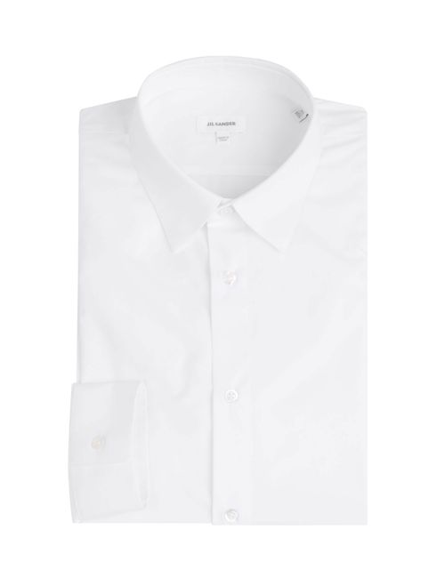 Jil Sander | Weiß Cotton Shirt Gr. 40