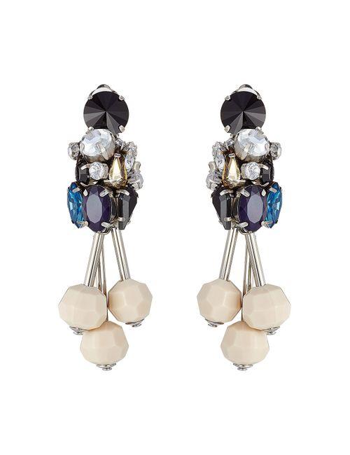 Marni | Женское Многоцветный Embellished Earrings Gr. One Size