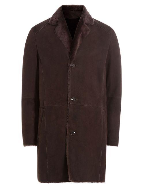 Etro | Коричневый Lamb Shearling Coat Gr. Eu 48