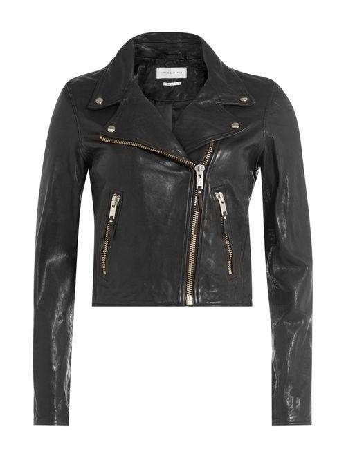 ISABEL MARANT ÉTOILE | Женское Черный Leather Biker Jacket Gr. Fr 36