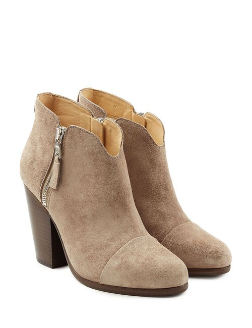 Rag & Bone | Женское Бежевый Suede Ankle Boots Gr. It 36