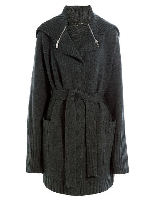 Barbara Bui | Женское Серый Merino Wool Cardigan Gr. 1