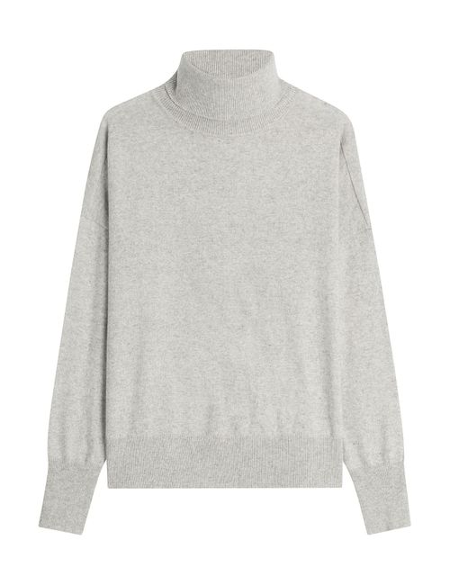 Closed | Женское Серый Turtleneck Pullover With Wool Gr. M