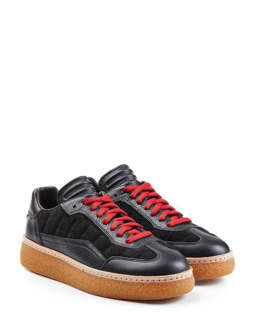 Alexander Wang | Женское Чёрный Sneakers With Leather And Suede Gr. Eu