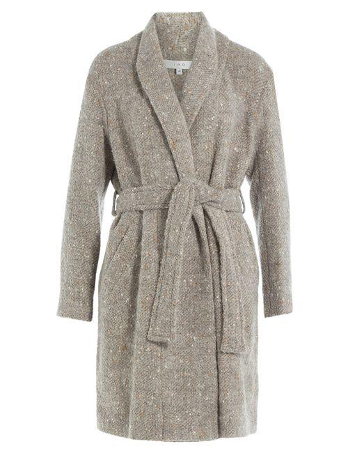 Iro | Женское Серый Coat With Wool Alpaca And Mohair Gr.