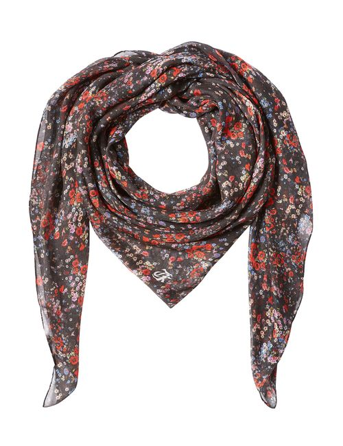 The Kooples | Женское Многоцветный Printed Scarf With Silk Gr. One Size