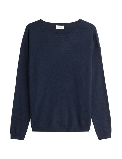 Closed | Женское Синий Pullover With Wool And Cashmere Gr. S