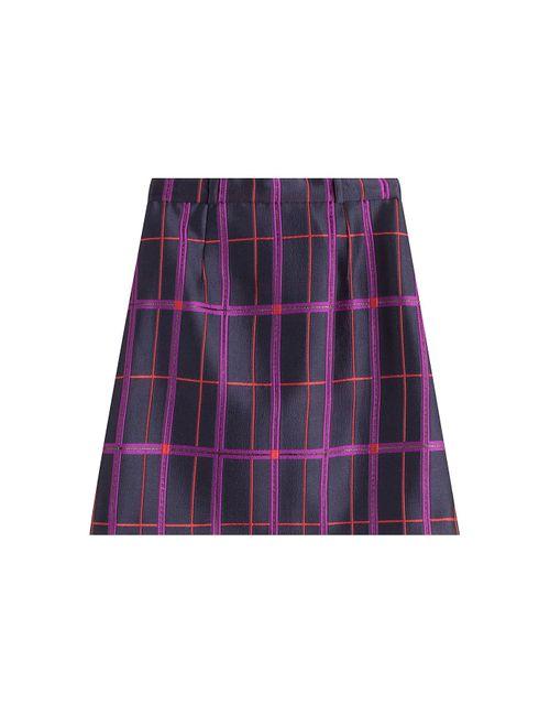 Carven | Женское Многоцветный Embroidered Satin Skirt Gr. Fr 36