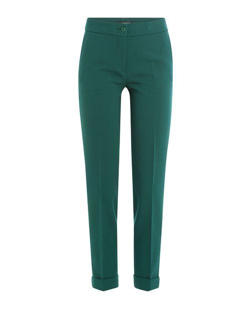 Etro   Женское Зелёный Wool Pants Gr. It 46