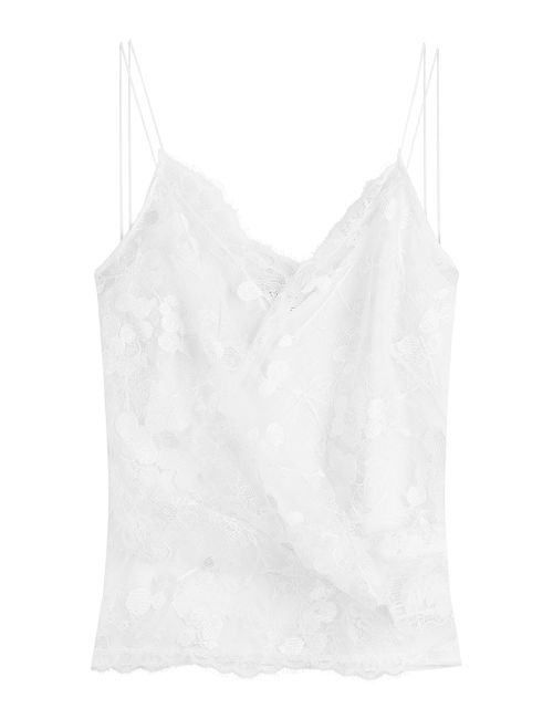 Carven   Женское Белый Lace Camisole Gr. Fr 38