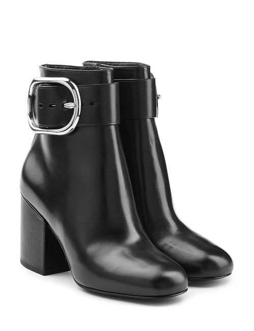 Alexander Wang | Женское Чёрный Leather Ankle Boots Gr. Eu 36