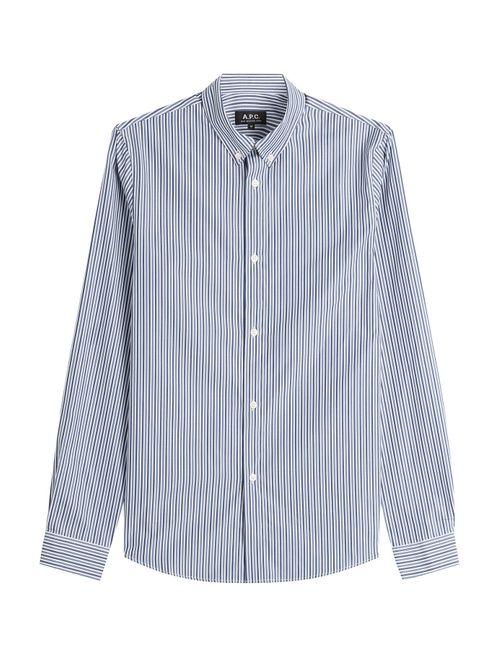 A.P.C. | Многоцветный Striped Cotton Shirt Gr. S