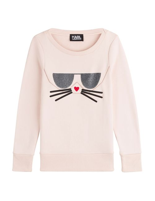 Karl Lagerfeld | Женское Rose Sweatshirt With Cotton Gr. S