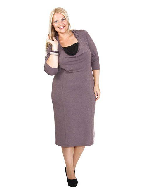 Svesta | Женское Фиолетовое Платье