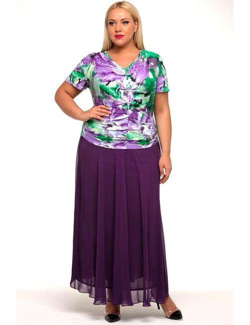 Svesta | Женская Фиолетовая Юбка