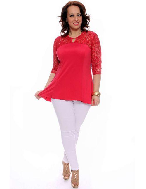 Svesta | Женская Красная Блузка