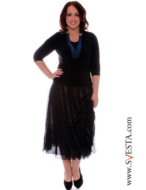 Svesta | Женская Чёрная Юбка