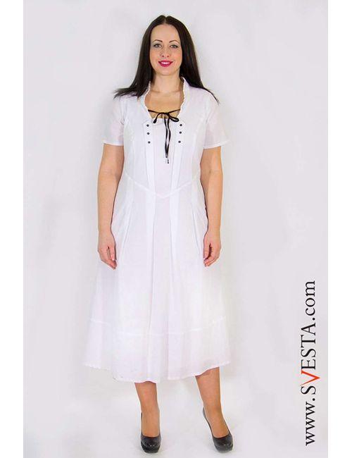 Svesta | Женское Белое Платье