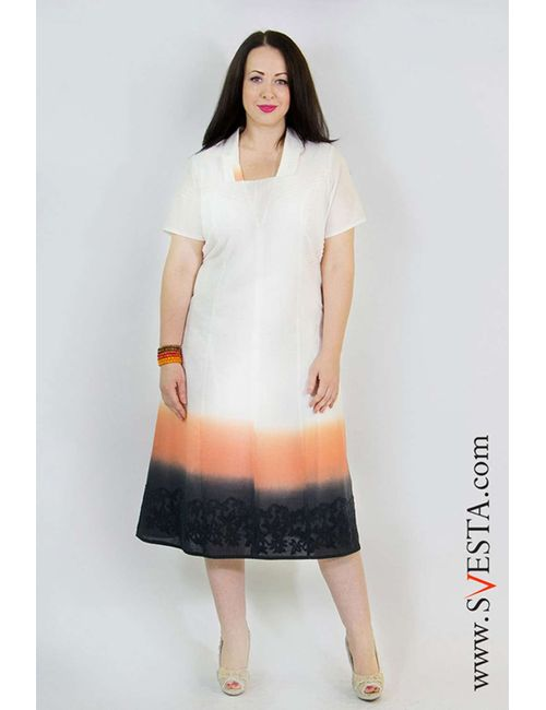 Svesta | Женское Бежевое Платье