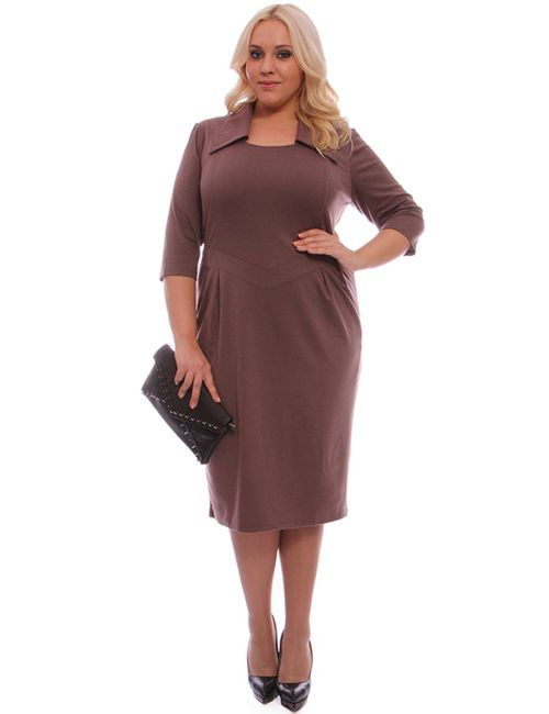 Svesta | Женское Коричневое Платье