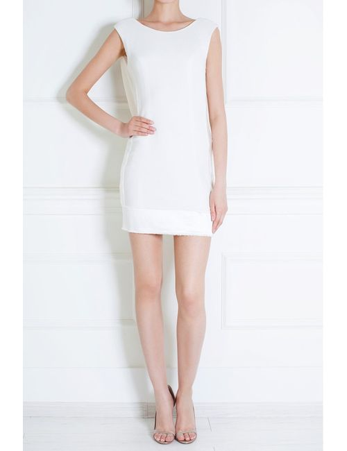 Jay Ahr   Женское Белое Платье Из Вискозы