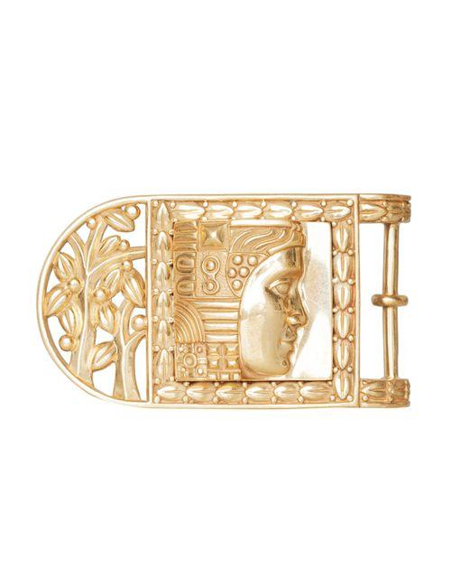 Kieselstein-Cord | Женская Золотая Металлическая Пряжка W.O.W. Frame