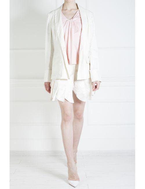 3.1 Phillip Lim | Женский Розовый Хлопковый Топ