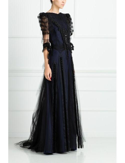 Marc Jacobs | Женское Синее Платье Из Вискозы