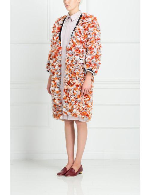 Marni | Женское Многоцветное Шелковое Пальто