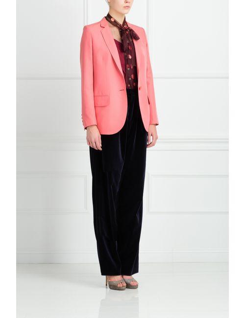 Stella Mccartney | Женский Розовый Шелковый Жакет