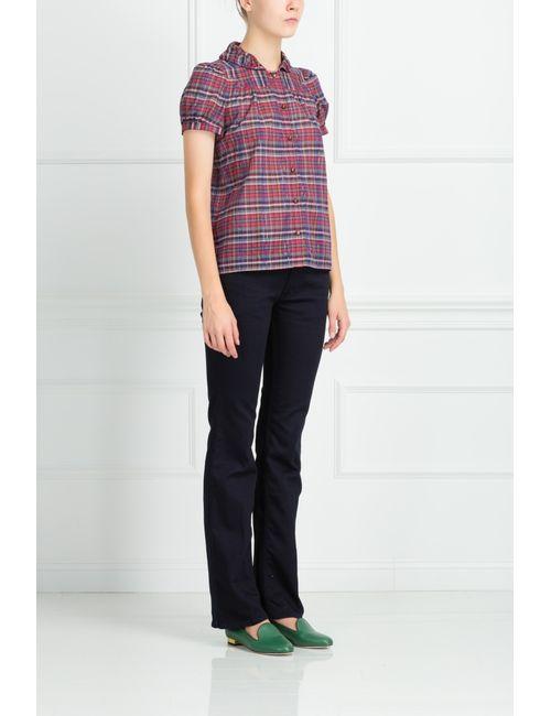 Mih Jeans | Женские Синие Брюки Из Хлопка И Вискозы