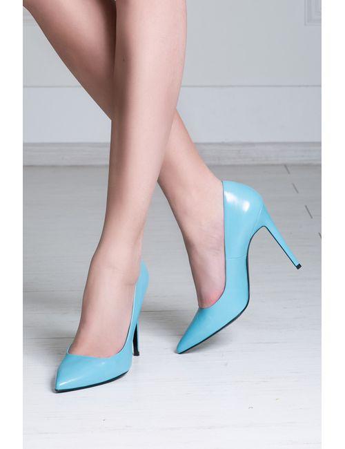 Pierre Hardy | Женские Голубы Кожаные Туфли
